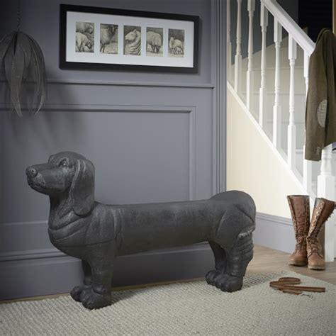 store sausage dog bench