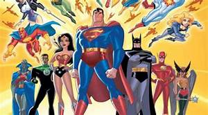 justice league cartoon Gallery