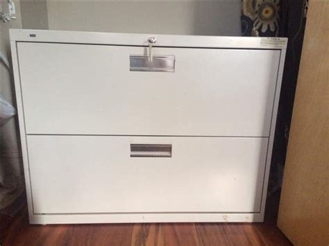 file cabinet hon metal lateral locking with ivory cbell river courtenay comox