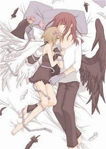Get Free Wallpapers: cute anime couple sleeping together