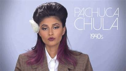 Mexican American Evolution Decades 1940s Chicana Pachuca
