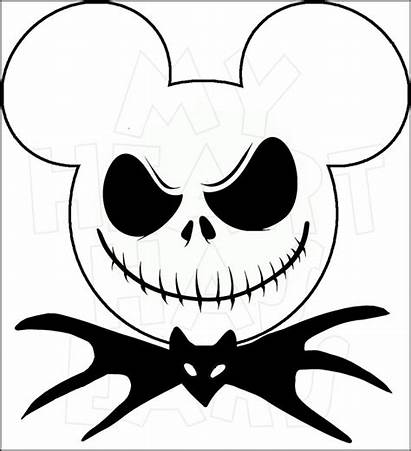 Mickey Jack Mouse Disney Head Halloween Clip