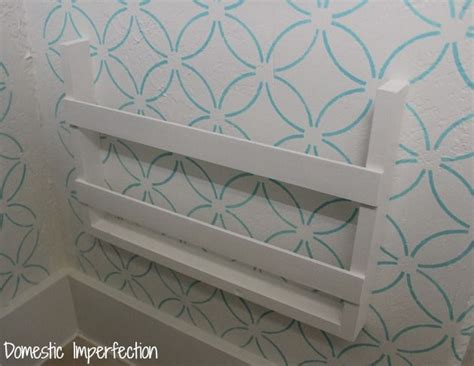 diy magazine holder for bathroom 27 best images about our house on pinterest diy headboards shabby chic bathrooms and wine racks