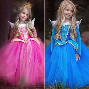 new kids girl sleeping beauty princess aurora fancy dress With robe de la princesse aurore