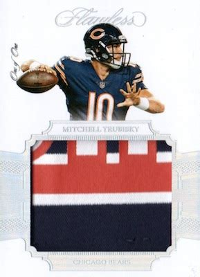 panini flawless football checklist set info boxes