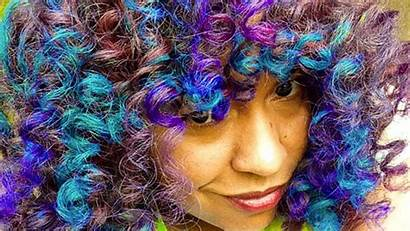 Hair Fantasy Colors Without Curly Damage Naturally