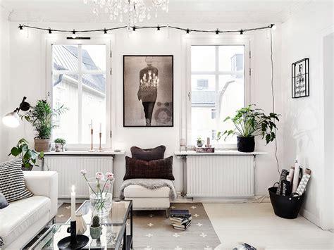 guirlande lumineuse deco chambre un appartement de caractère rempli de charme