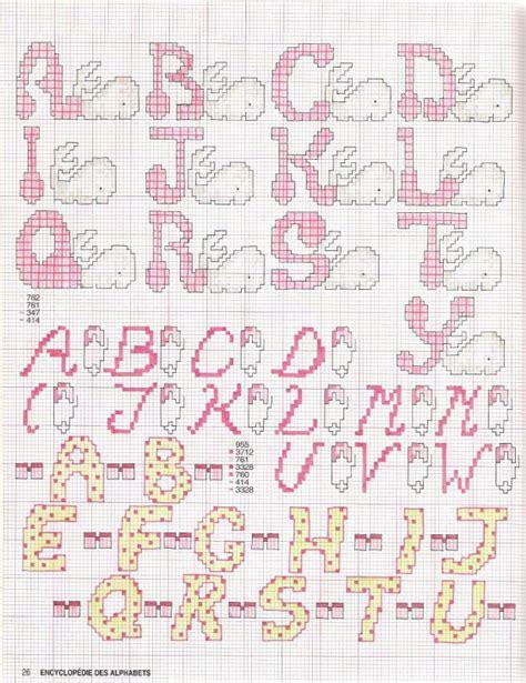 lettere dell alfabeto a punto croce alfabeto punto croce bimbe con le balene 1