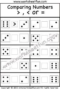 comparing numbers    worksheet comparing numbers