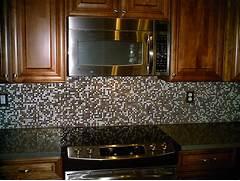 White Glass Subway Tile Kitchen Backsplash  Home Design Ideas