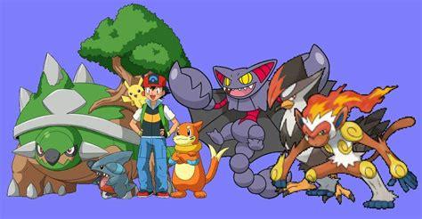Evolve Your Pokemon Ash!