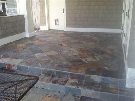 exterior tile exterior tile installation over occupied space diytileguy