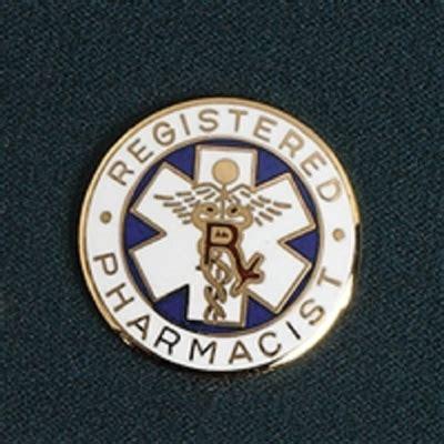 Registered Pharmacist by Registered Pharmacist Lapel Pin
