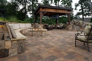 Outdoor paver ideas, diy outdoor fire pit outdoor stone