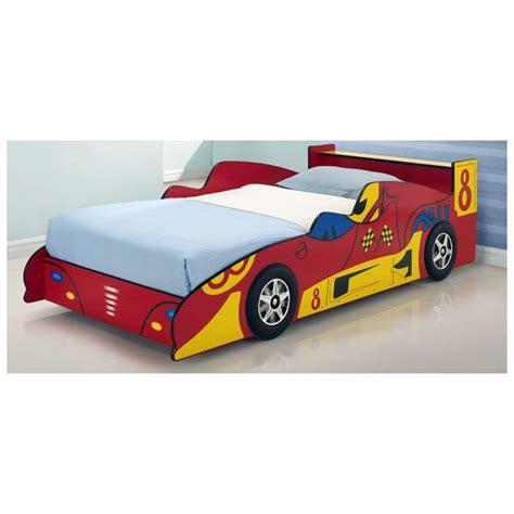 Toddler Kids Red Racing Race Car Bed Frame  Buy Novelty