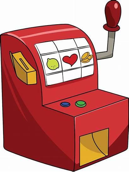 Slot Machine Clipart Casino Clip Cliparts Transparent