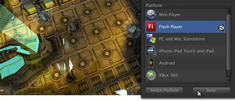 Unity, Flash & 3d On The Web