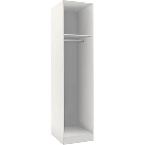 Single White Wardrobe by Hygena Single Wardrobe White