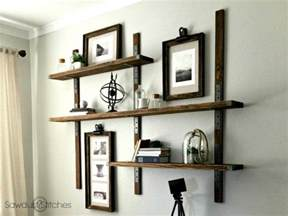 Diy Bathroom Decor Ideas Pinterest by Simpson Strong Tie Wall Mounted Shelves Sawdust 2 Stitches
