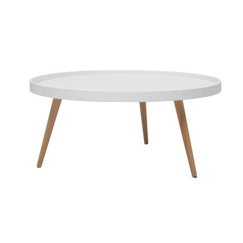 table de salon scandinave table basse ronde scandinave blanche petit mod 232 le table basse et d appoint salon meuble gifi