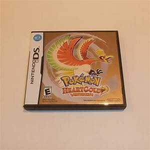 Nintendo Ds Pokemon Heart Gold Version Case Only No Game