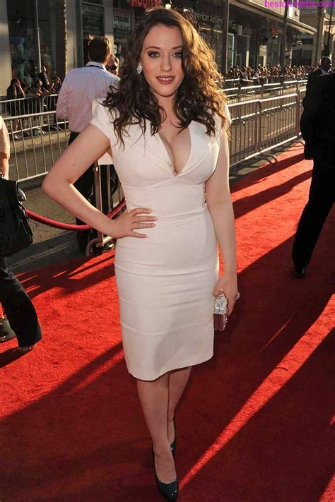 Kat Dennings Huge Cleavage Show Hot Actress Sexy Pics