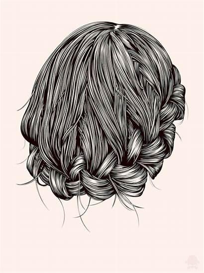 Hair Hairstyles Messy Cool Down Study Gerrel