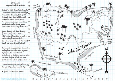 Treasure Hunt Template Tes by Treasure Hunt Loci Constructions By Andrewchambers