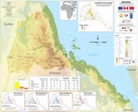 Eritrea Map Satellite