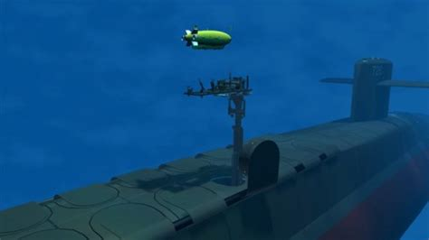 Navy, Electric Boat Test Tube-Launched Underwater Vehicle ...