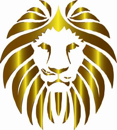 Lion Background Clipart Clip Transparent Roar Prismatic