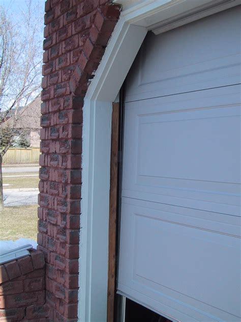 Garage Door Frame With No Weather Stripping #2775 Latest