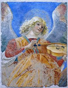 Melozzo Da Forl QuotAngel Playing Violaquot 1480 Fresco Flickr