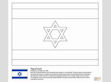 Israeli Flag coloring page Free Printable Coloring Pages