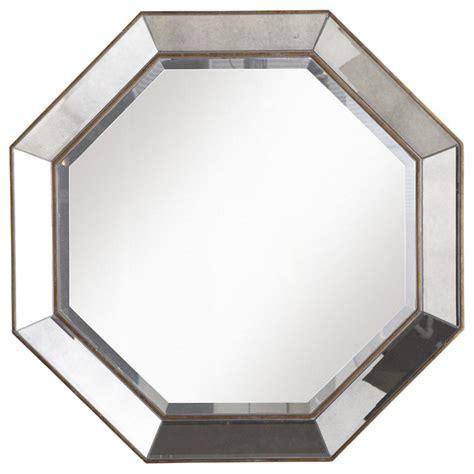 Octagon Bathroom Mirror by Crisanto Octagon Mirror Traditional Wall Mirrors By
