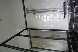 Salle De Bain Style Atelier : une verri re atelier d 39 artiste en acier inxoyadable pour une salle de bain ou un pare douche ~ Teatrodelosmanantiales.com Idées de Décoration