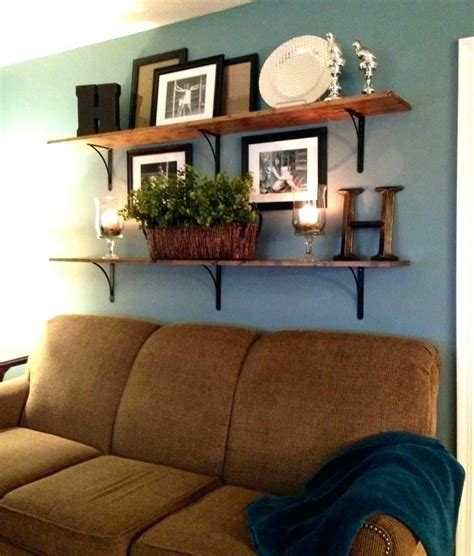 See more ideas about home decor, home, decor. Art Above Sofa Hanging Wall Ideas For Over Couch Cover (With images)   Living room decor rustic ...