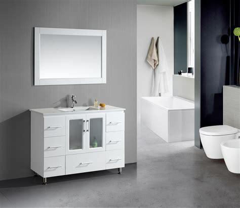 18 inch bathroom vanity menards stanton 48 inch white finish bathroom vanity set