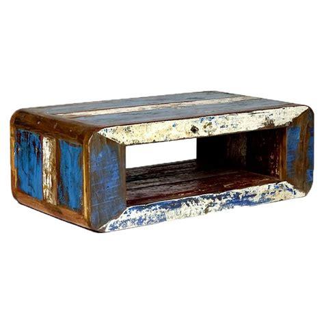 table basse bois recycle table basse vintage bois de bateau recycl 233 pas cher en vente chez origin s meubles