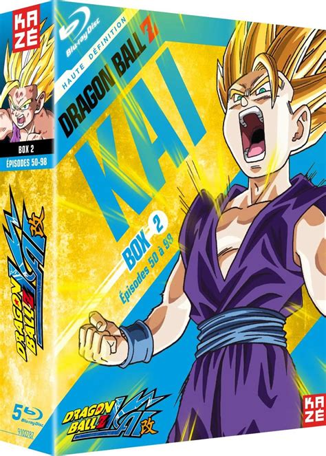 Maybe you would like to learn more about one of these? Blu-ray - Kai - Coffret 2 : Dragon Ball Z - DVD Séries