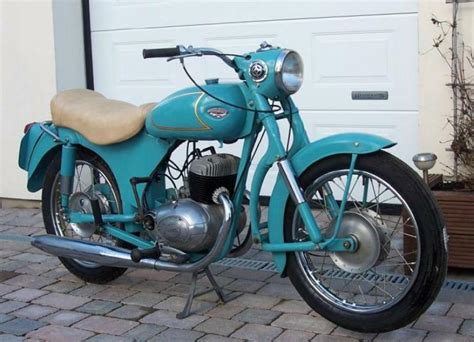 1960 Dmw Dolomite Classic Motorcycle Pictures