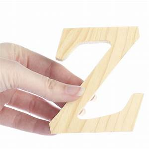 standing wooden letter z word and letter cutouts With wooden letter z