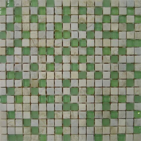 Belle Glass Stone Green 300x300mm   Belle Tiles