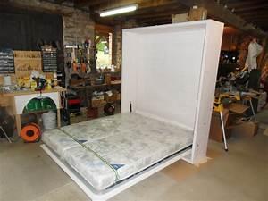 Lit Double Escamotable Ikea : lit escamotable en double couchage vercors literie ~ Melissatoandfro.com Idées de Décoration