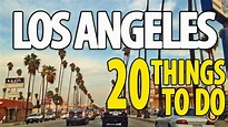 20 BEST THINGS TO DO IN LOS ANGELES ♥ Top Attractions LA ...