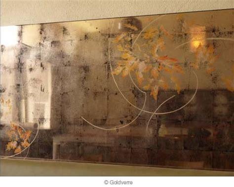 bruce jackson  portrait verre eglomise reflection