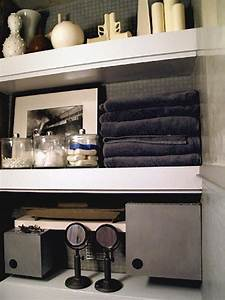 Bathroom shelf bathroom shelves decorating ideas youtube for Tips to decorate bathroom storage shelves