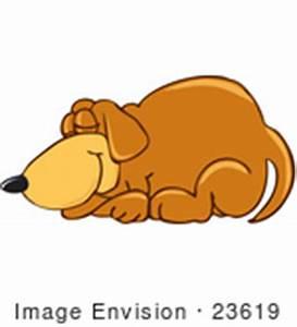 Cartoon Lazy Dog