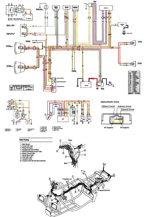 Kawasaki Klf Bayou Wiring Diagram Atvs