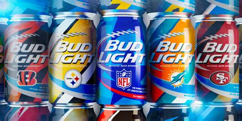 bud light nfl cans 2016 where to buy bud light nfl cans the dieline branding packaging design